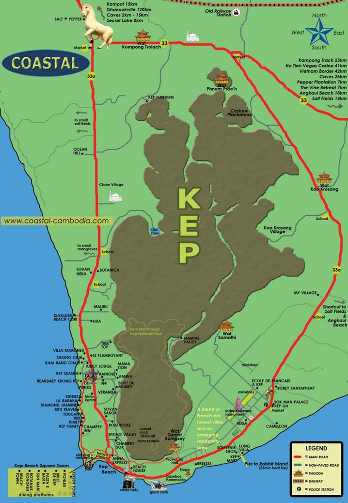 Maps For Phnom Penh And Siem Reap