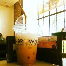 brown coffee