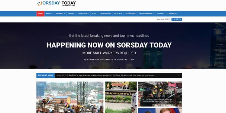 Cambodia News Sorsday Today